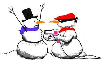 Humorous christmas clipart.