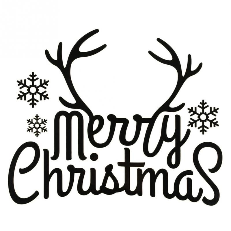 Clipart Merry Christmas Images Black And White.