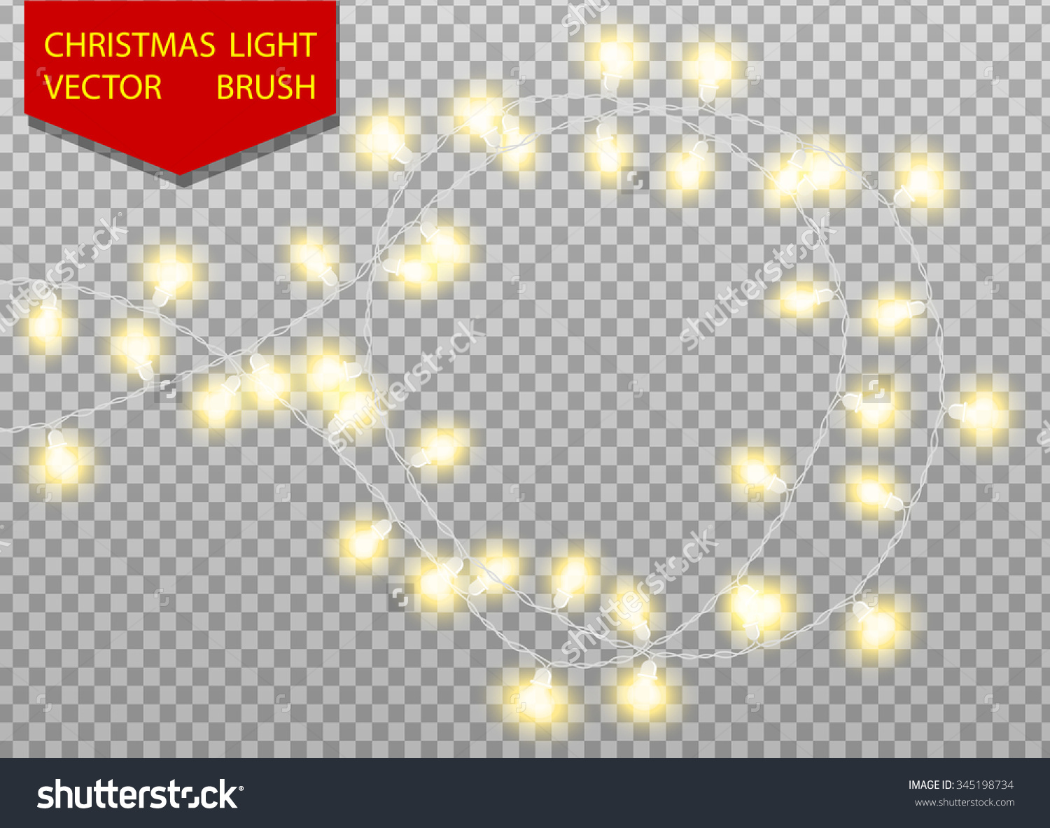Clipart Christmas Lights No Background Clipground