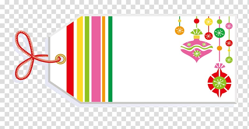 White and pink Christmas card , Label Name tag Sticker, Tag.