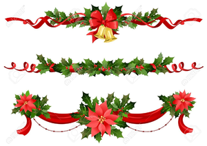 Free Christmas Page Borders Clipart.