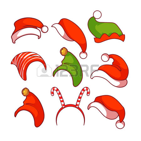Red Hat Christmas Clipart.