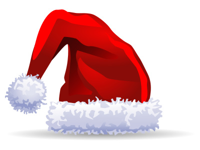 Clipart Christmas Red Hat.