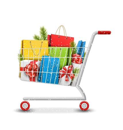 Christmas shopping clipart 9 » Clipart Station.