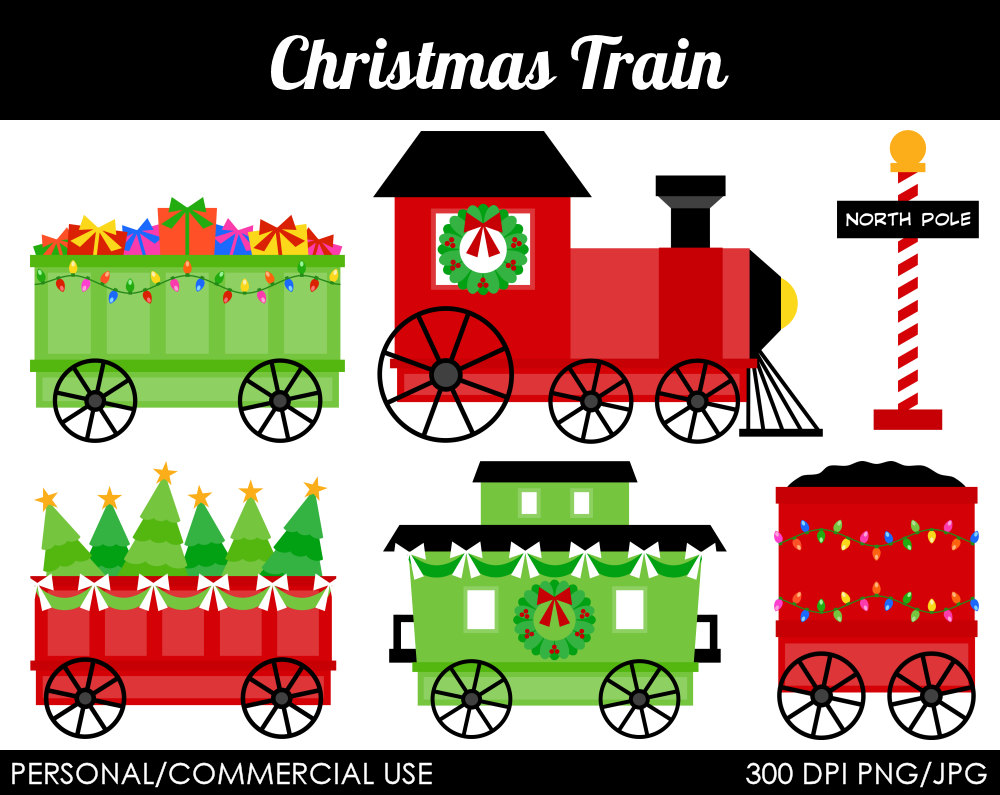 Free Christmas Train Cliparts, Download Free Clip Art, Free.