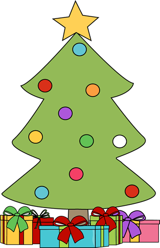 Free Christmas Tree With Presents Clipart, Download Free.