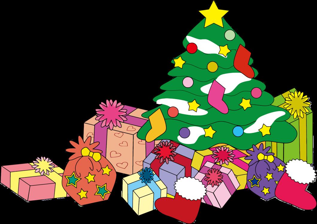 Christmas Tree Clip Art Christmas Christmas Gift Christmas.