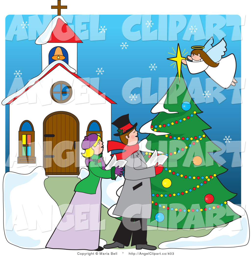 Royalty Free Christmas Tree Stock Angel Designs.