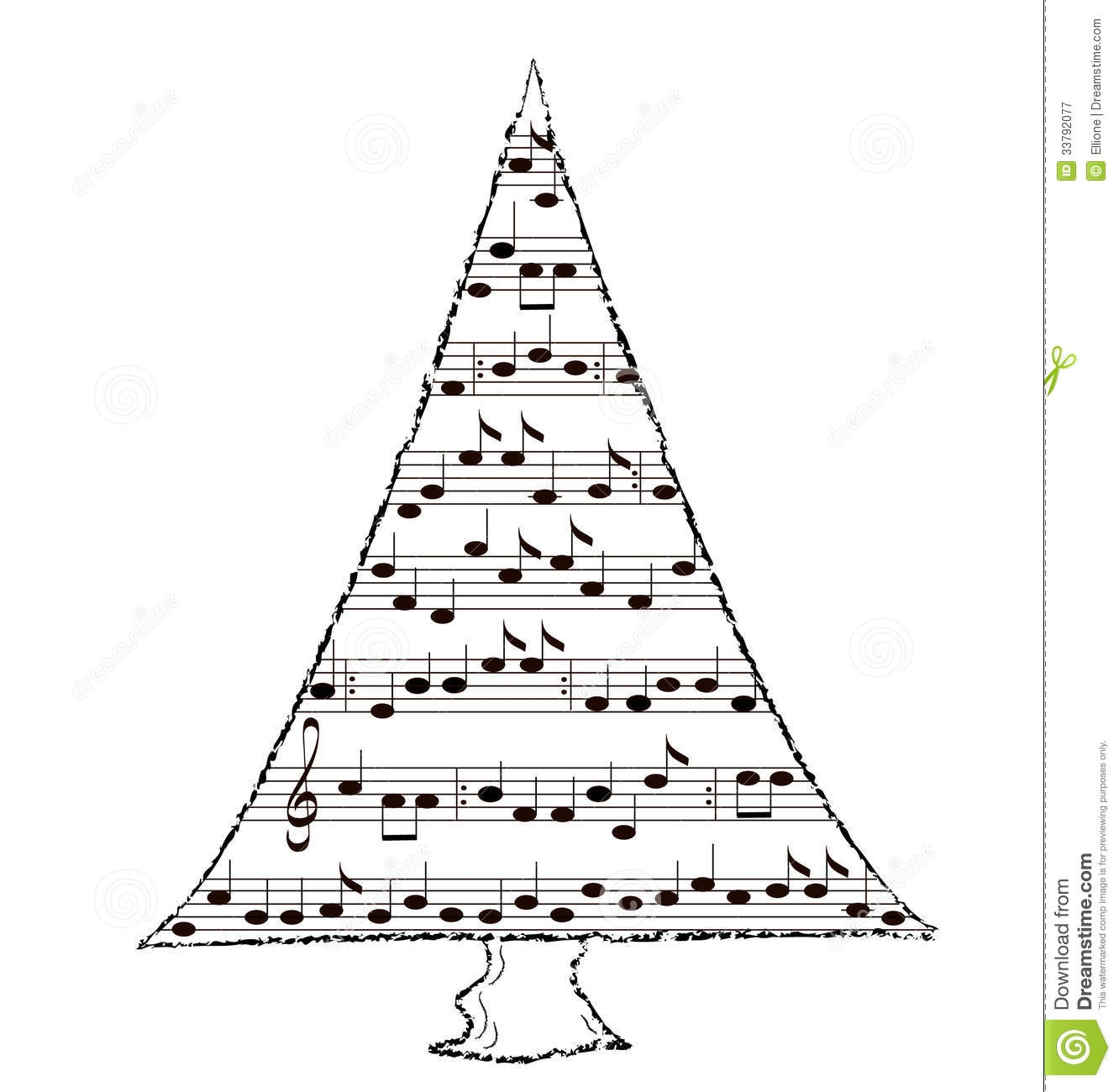 Christmas Music Clipart.
