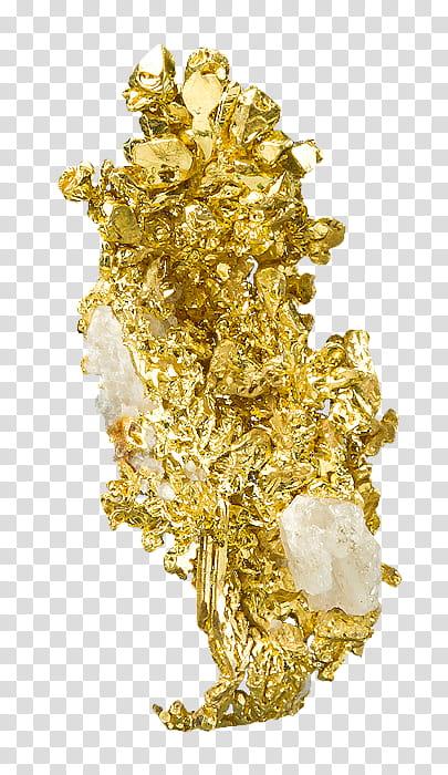 Black Golden s, gold chunks transparent background PNG.