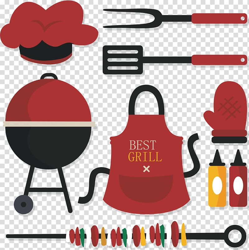 Best grill utensil illustration, Barbecue Churrasco Buffalo.