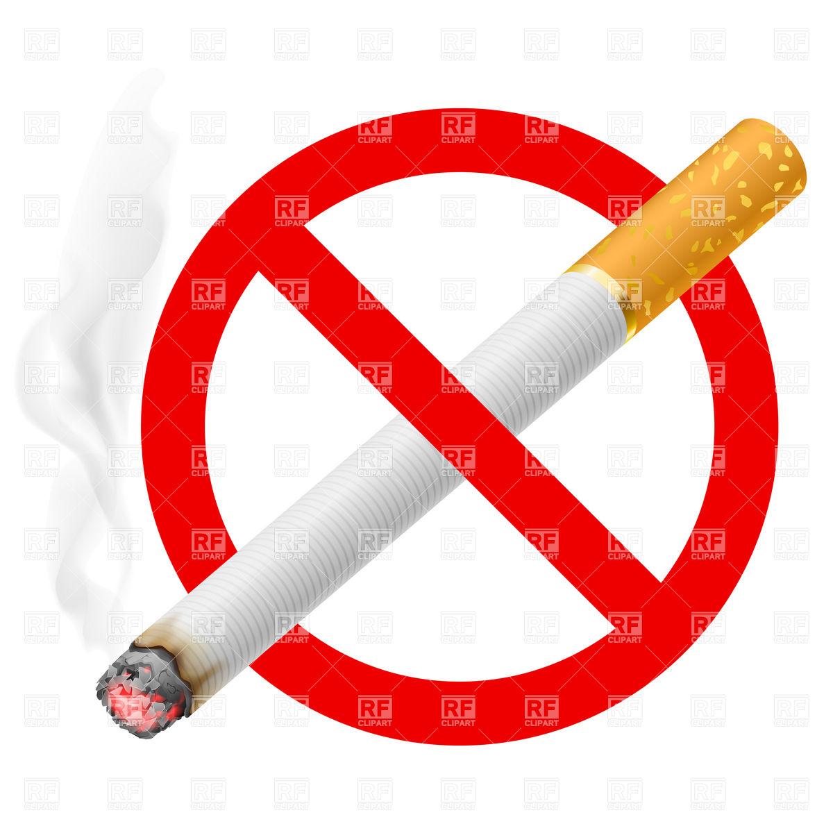 No Cigarette Clipart.