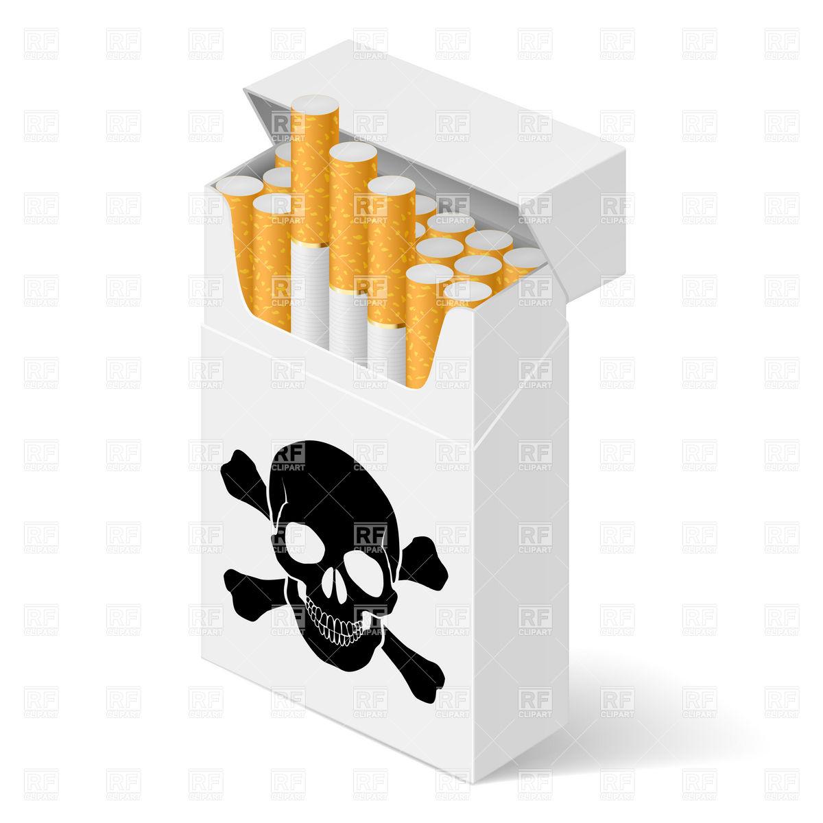Marlboro Cigarette Clipart.