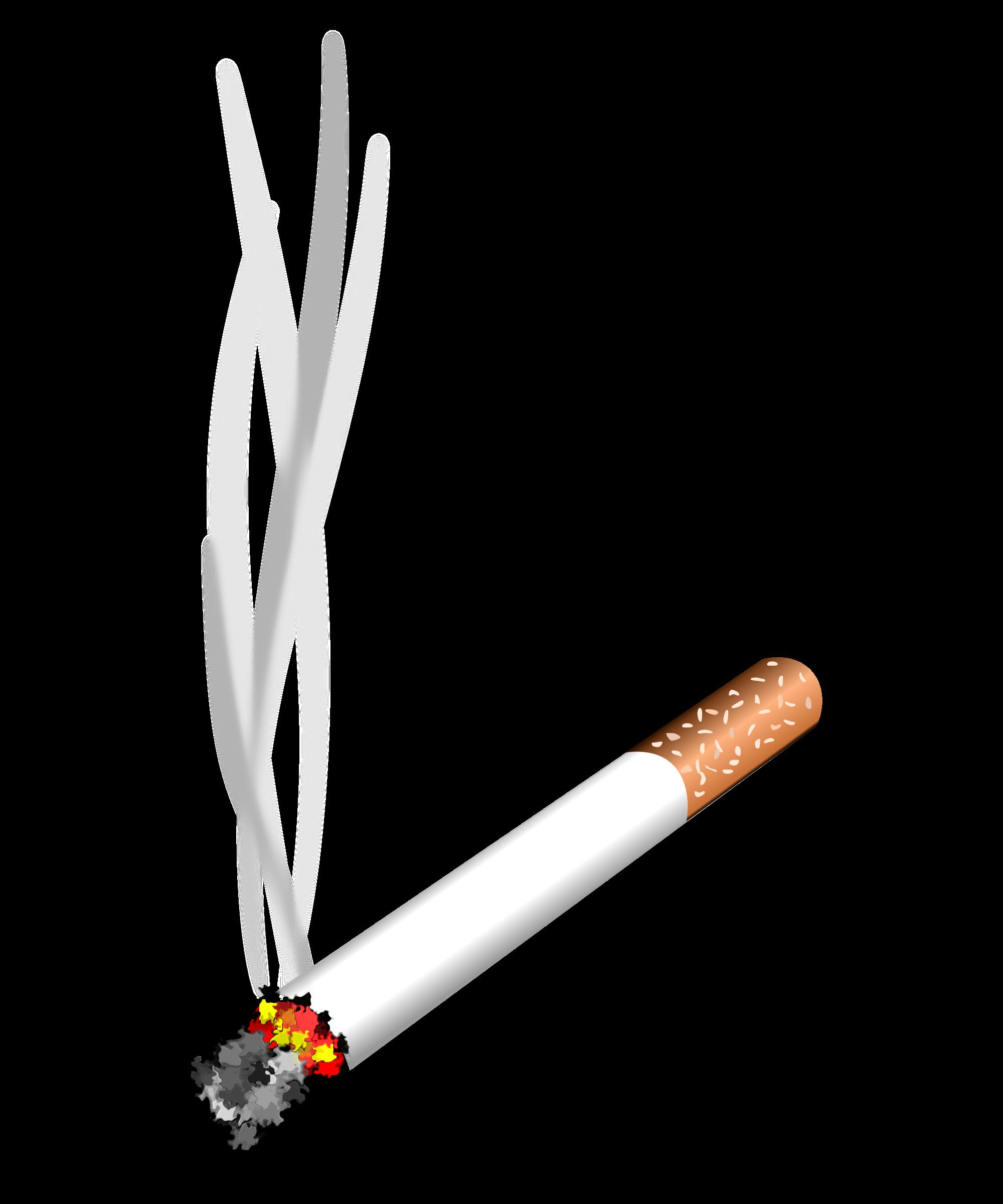 Clipart Cigarette Gratuit.