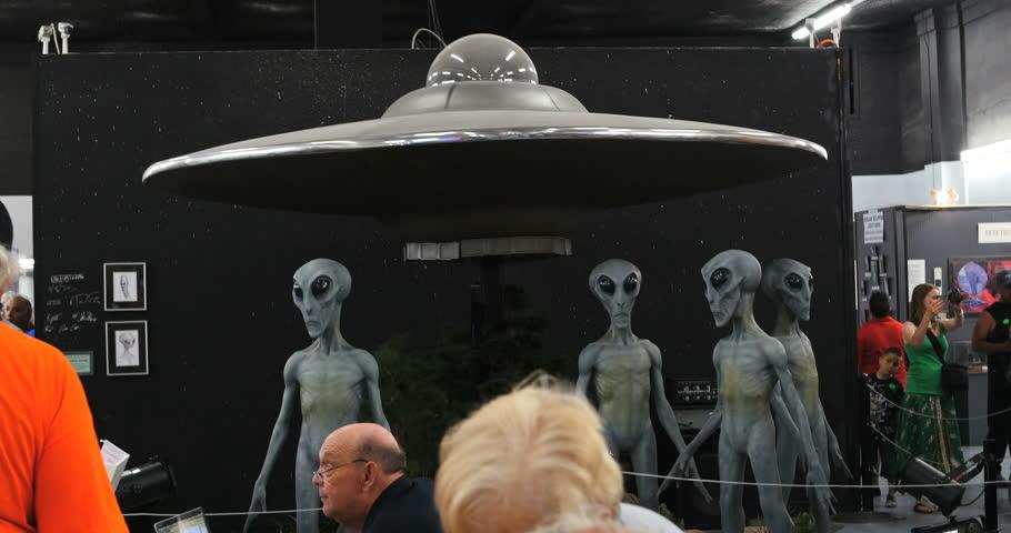 Roswell New Mexico UFO Clip Art.