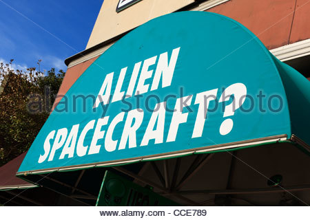 The Roswell UFO Incident Of 1947 Stock Photo, Royalty Free Image.