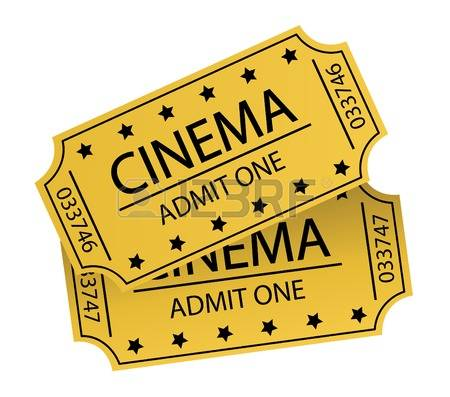 8,248 Cinema Tickets Stock Vector Illustration And Royalty Free.