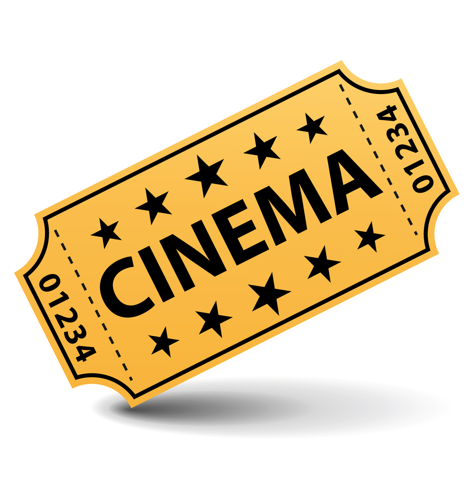 Clipart Cinema Ticket.