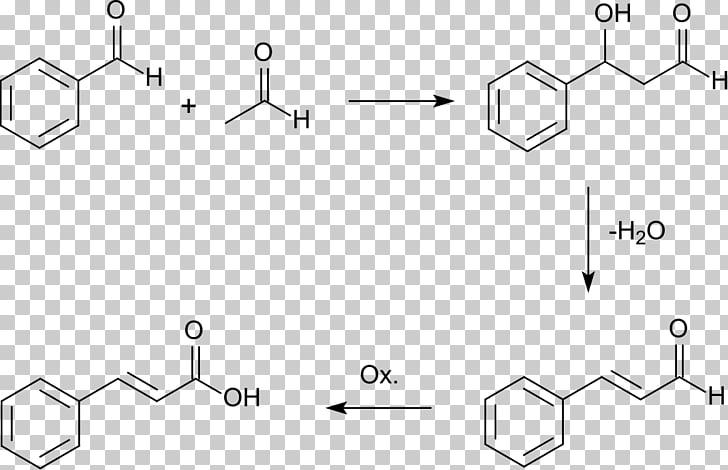 Cinnamic acid Aldol condensation Cinnamaldehyde Chemical.