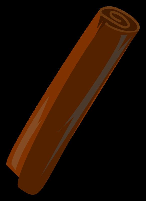 Free Clipart: Cinnamon Stick.