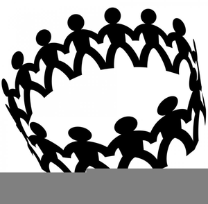 Clipart Circle Of Friends.