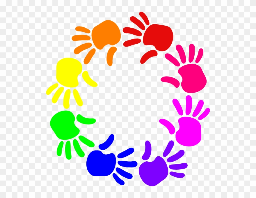 Clip Transparent Library Circle Of Friends Clipart.