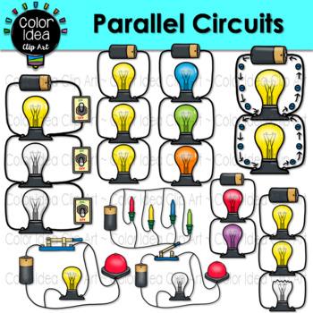 Parallel Circuits Clip Art.