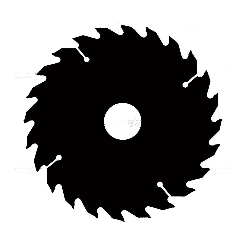 Free Circular Saw Blade Clipart Design.
