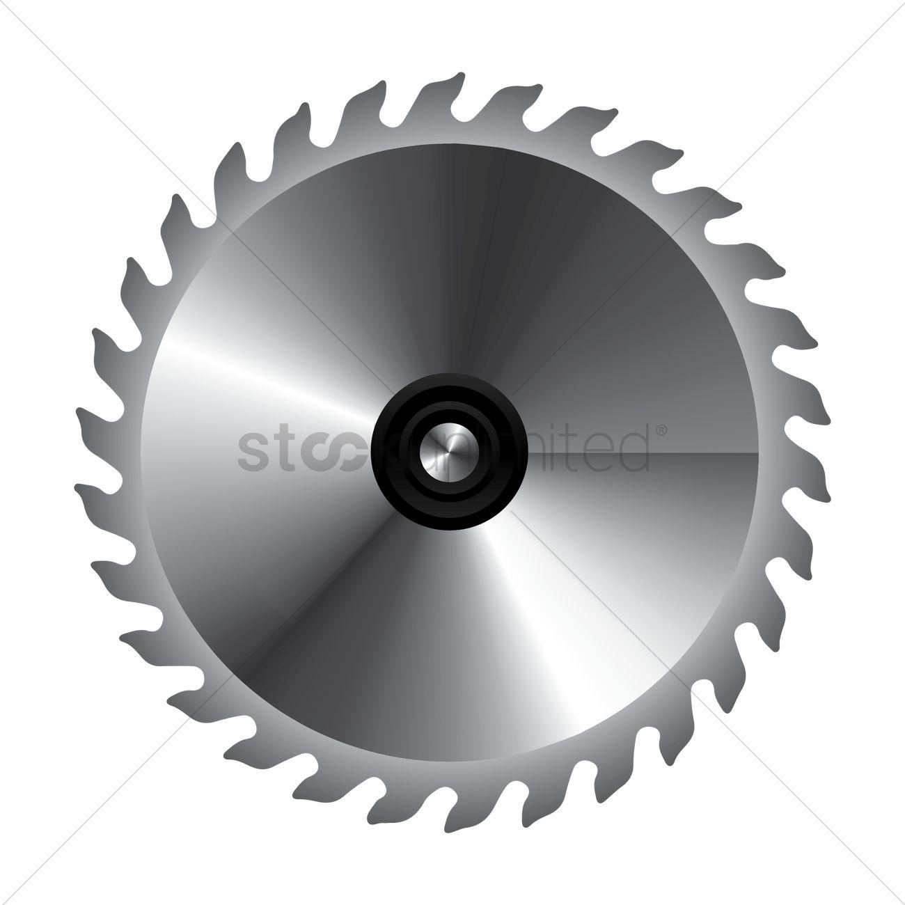 Circular saw blade Vector Image.