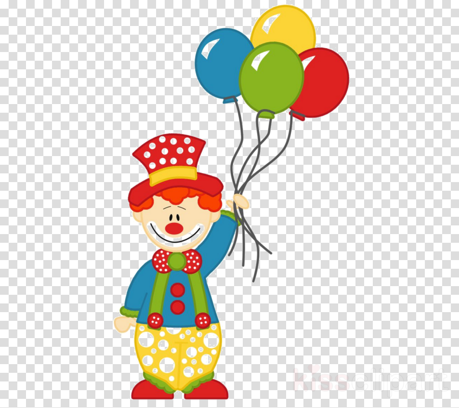 Circus, Clown, Balloon, transparent png image & clipart free download.