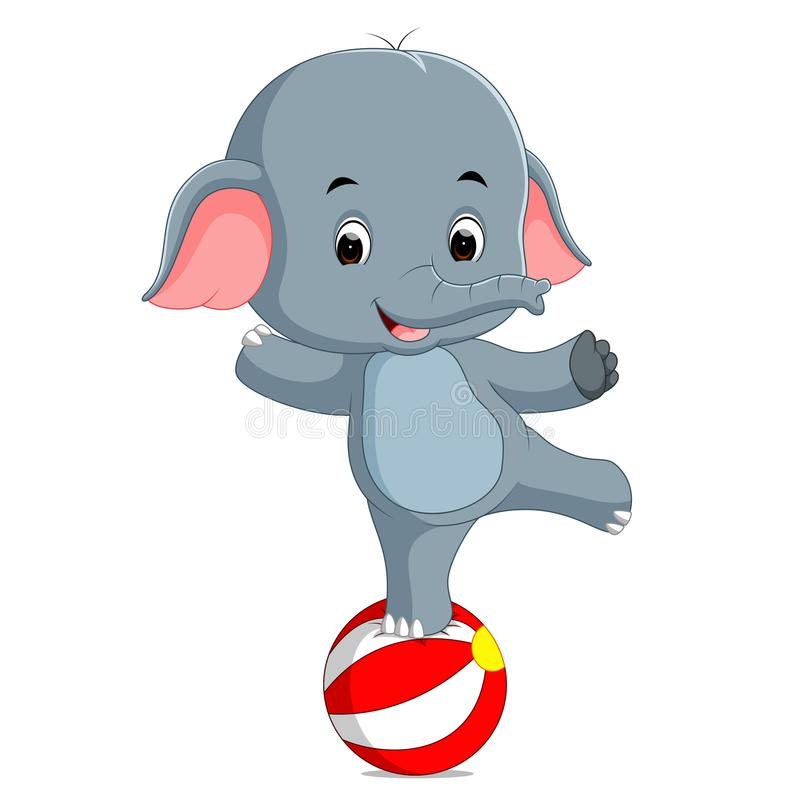 Circus Elephant Stock Illustrations.