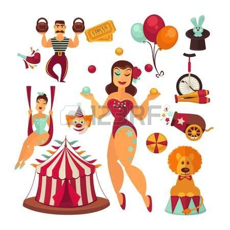 1,326 Circus Woman Cliparts, Stock Vector And Royalty Free Circus.