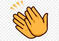 Clipart Clapping Hands.