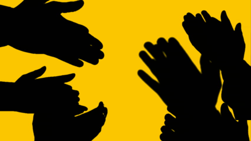 Clapping Hands Animation Stock Footage Video (100% Royalty.