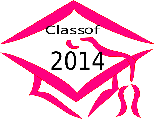 Class Of 2014 Graduation Cap.