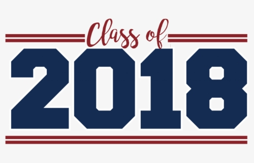 Free Class Of 2018 Clip Art with No Background.