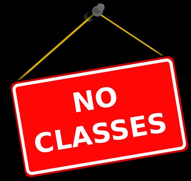 No Classes Labor Day Clipart.