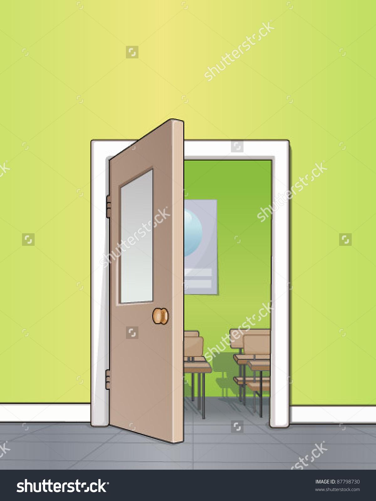 Classroom Clipart Door.
