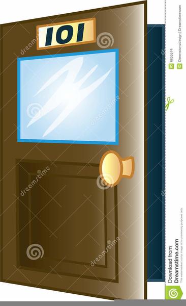 Clipart Classroom Door.