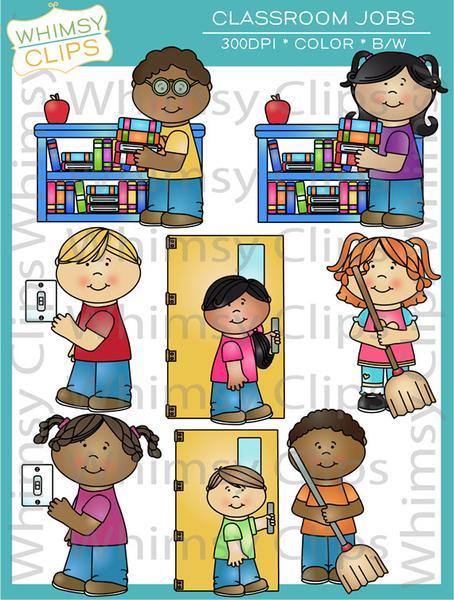 Classroom management clip art , Images & Illustrations.
