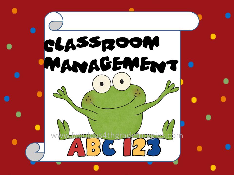 Classroom Management Clipart.
