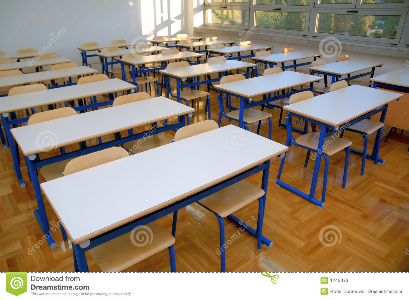Classroom tables clipart.