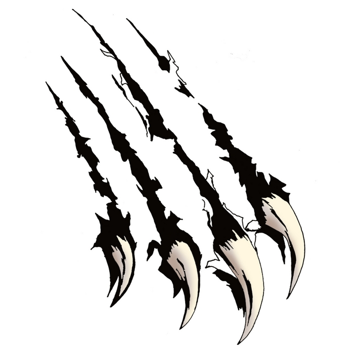 Animal Claw Marks Clipart.