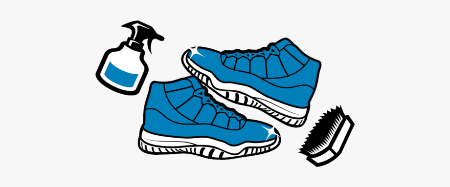Graphic Black And White Stock Sneakers Clipart Clean.