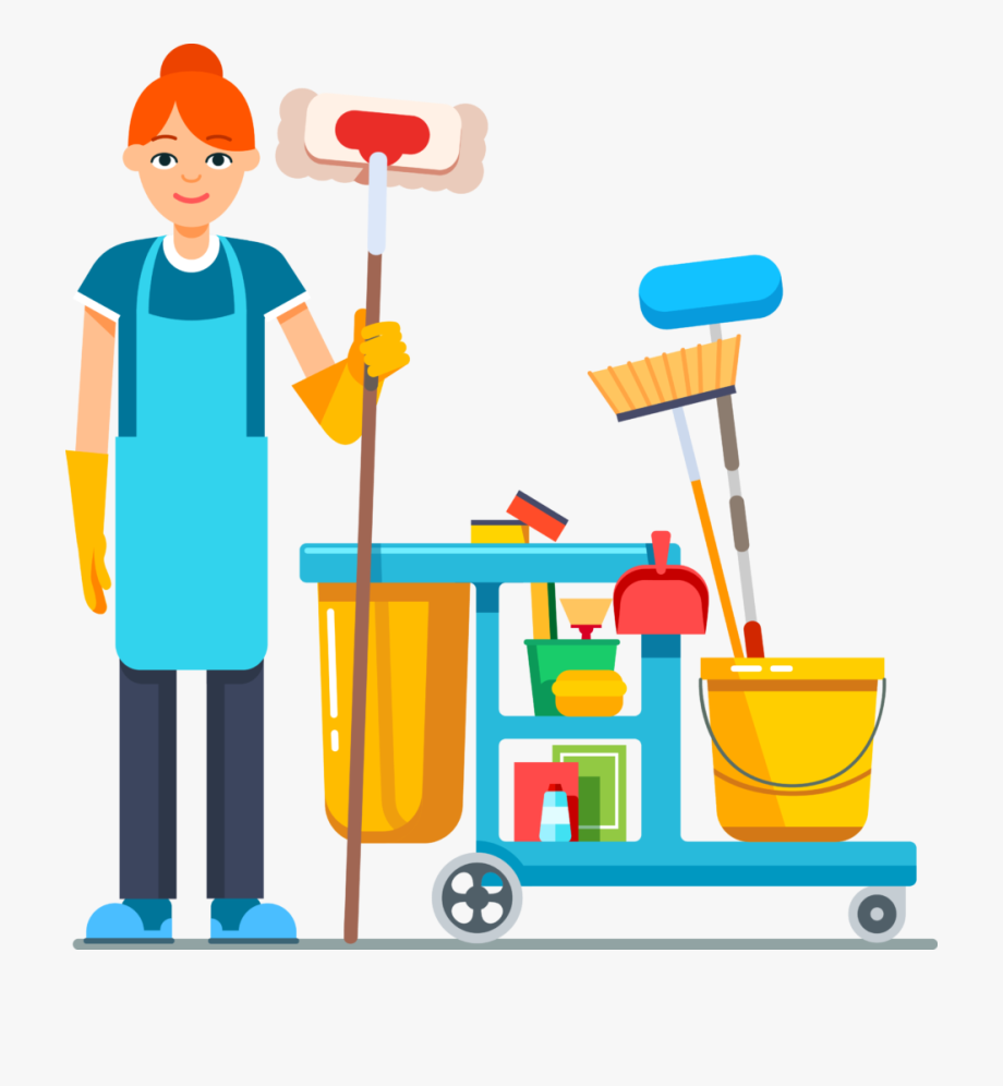 House Cleaning Services Clip Art.
