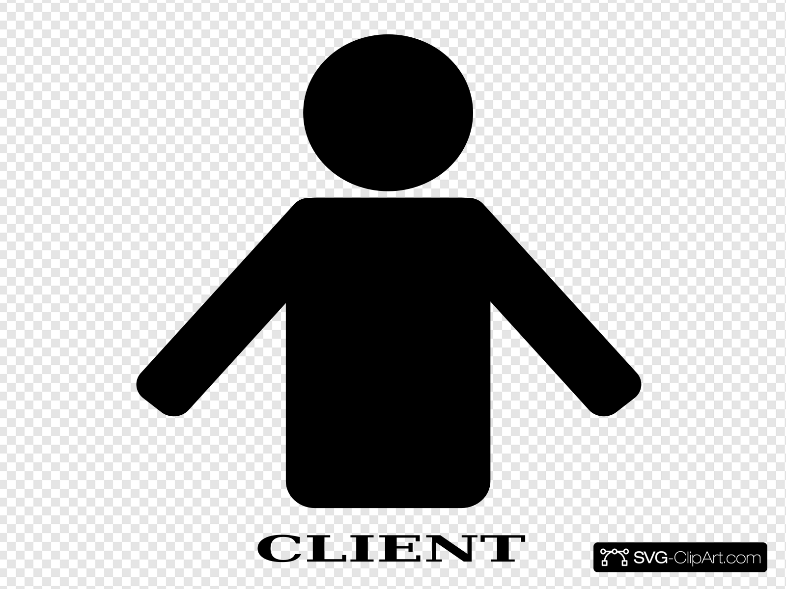 Client Clip art, Icon and SVG.