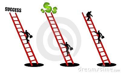 Climbing cliparts.