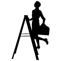 Silhouette Silhouettes Woman Women Lady Ladies Human People Person.