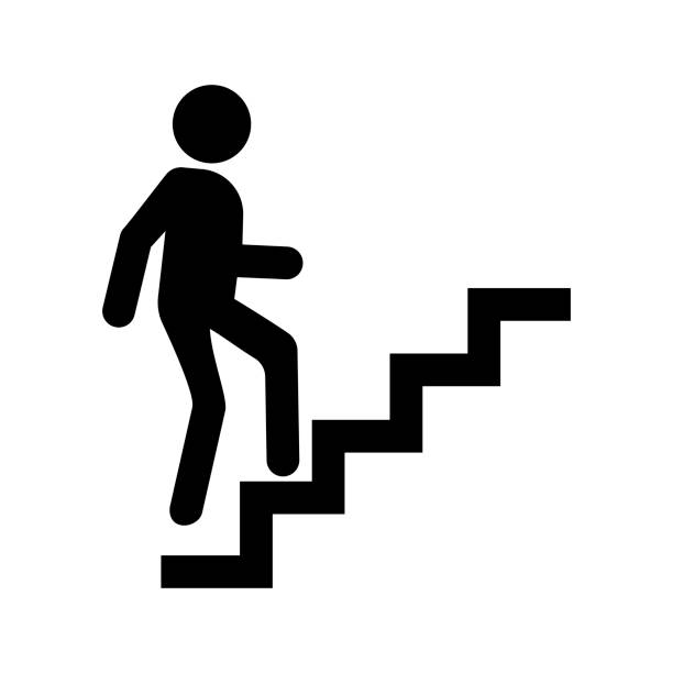 Best Stair Climbing Machine Illustrations, Royalty.