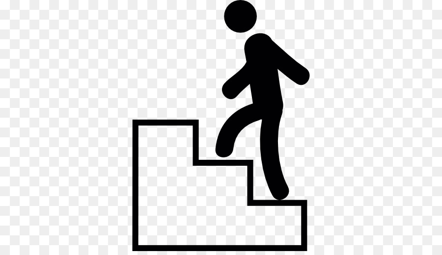 Download man climbing stairs icon clipart Stair climbing Computer.